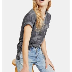 We The Free People camp  urnout tee t-shirt S